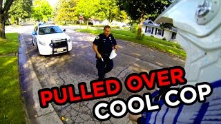 Supermoto Gets Caught By The Cops | Cool Cop Edition