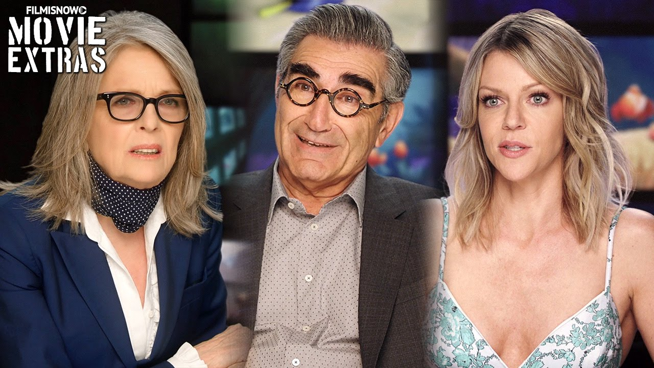 Finding Dory | On-set with Kaitlin Olson, Eugene Levy & Diane Keaton [Interview]