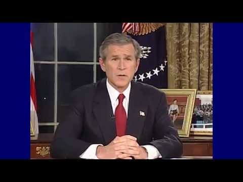 President George W. Bush - Invasion of Iraq Address