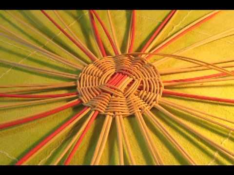 Курсы плетения лилии улановой корзинки