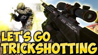 TIME TO TRICKSHOT! - BO2 SnD Funny Moments, Kills, Deaths and Reactions