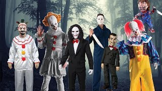 Scary Horror Show with Michael Myers, Chucky and Slappy