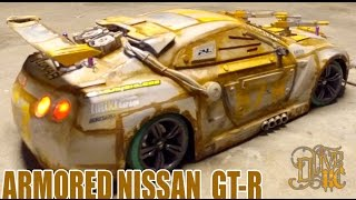 RC DRIFT CAR - MACHINE GUN NISSAN GT-R  (the drive)