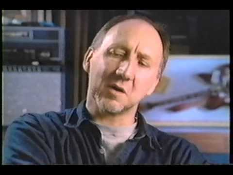 PETE TOWNSHEND ON TRADEMARK WINDMILL