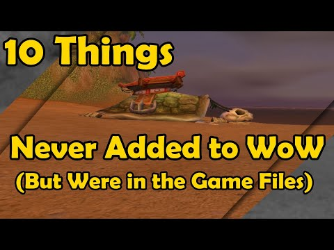 Download  10 Things Never Added to WoW But Were in the Game Files World of Warcraft Gratis, download lagu terbaru