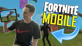 FAST MOBILE BUILDER on iOS / 490+ Wins / Fortnite Mobile + Tips & Tricks!
