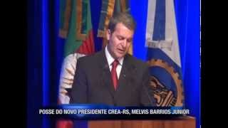 Programa NETWORK - Entrevista Presidente CREA-RS Eng. Civil Melvis Barrios Junior