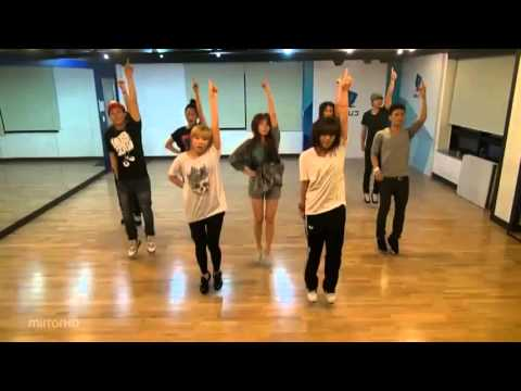 Hyuna - Bubble Pop Mirrored Dance Practice video