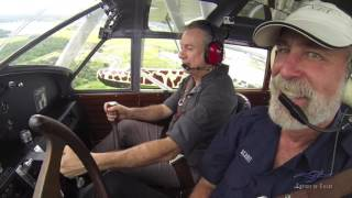 Kermit Weeks & Gene DeMarco Fly the Sikorsky S-39