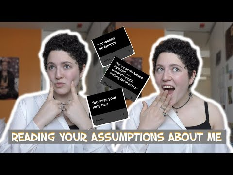 Answering your assumptions about me! (a totally original video)