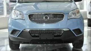 SsangYong New Actyon (blue) - in Khabarovsk 27RUS - Lider Auto- Auto Dealer Media