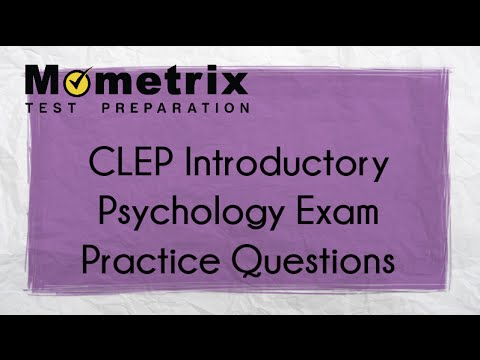 CLEP Introductory Psychology Exam Questions