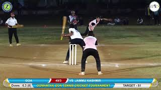 GOMANTAK GOA TENNIS CRICKET ASSOCIATION NATIONAL TOURNAMENT || 2019 ||