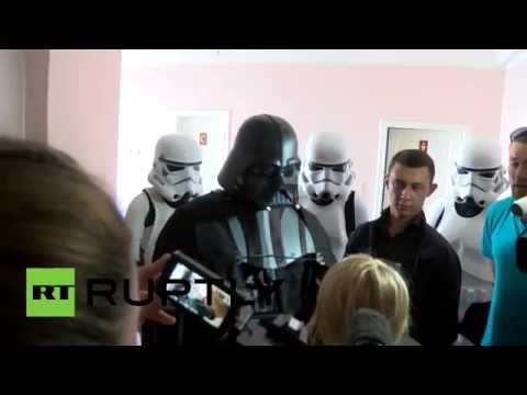 Force-choking no more? Darth Vader denied right to vote in Ukrainian election