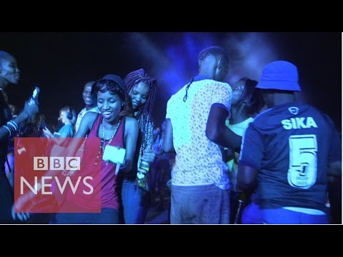 'Car park pimping' in Botswana BBC News