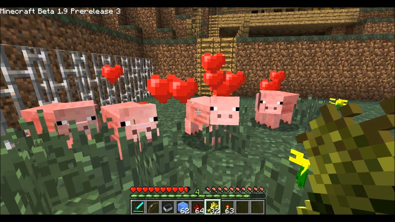 how to make a pig trap in minecraft pe