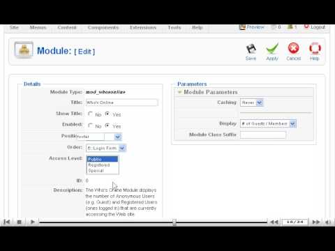 Quick overview: Module Manager in Joomla | SiteGround Joomla Tutorial