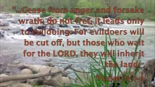 Waiting on God - Bible Promises Spoken