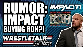 Michael Cole LEAVING WWE RAW?! NXT & 205 Live MERGING? IMPACT BUYING ROH?! | WrestleTalk News 2019