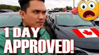 USED CAR NAUWE SA BRAND NEW CAR! | PINOY IN CANADA