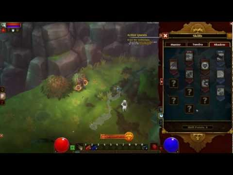 Torchlight 2 - Impresiones de la Beta y Gameplay en Español - Diablo 3 killer XD