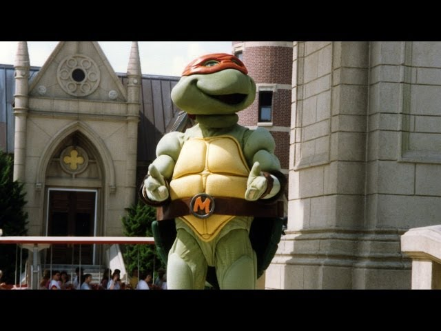 Teenage Mutant Ninja Turtles at Disney MGM Studios Show & Meet and Greet 1991, Walt Disney World