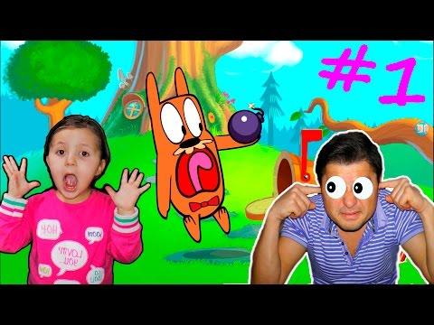 Смеемся и дразним зверька в смешеной игре для  детей Do Not Disturb MC Grump foe KIDS CHILDRENS