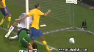 14-11-2012 - Sweden 4-2 England (Friendly)