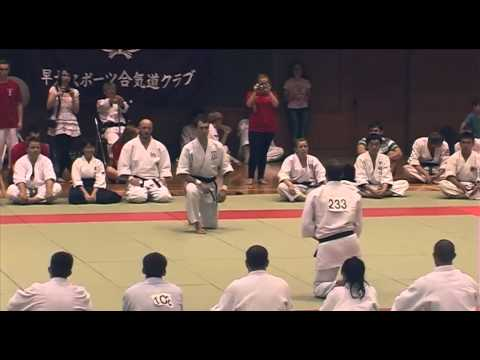 Koryu goshin (Dai San), finals at 10th Aikido Tournament, Kawasaki 2013 Image 1