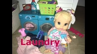 BABY ALIVE Suzy Does Laundry!