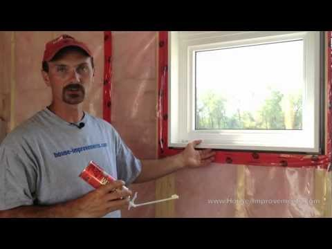 How To Insulate A Window Or Door