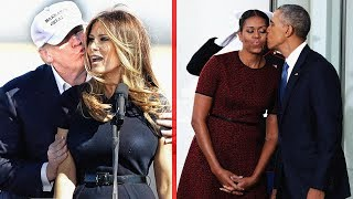 Melania Trump VS Michelle Obama - The Difference Between Their Style ★ 2018
