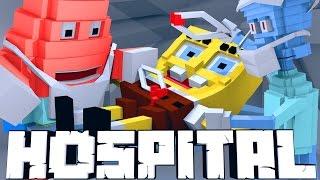 Broken Mods Hospital - SpongeBob's Broken Laugh Box! (Minecraft Roleplay) #3