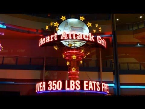 Heart Attack Grill Las Vegas John Alleman Downtown Fremont Street experiance Walkaround