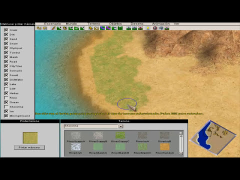 Cómo crear un escenario Age of Mythology - Parte 1/3 HD