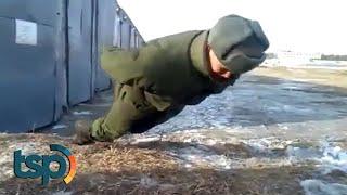 Tentara Rusia Ini Viral Karena Push Up Tanpa Tangan, Inilah Analisa Dibaliknya...