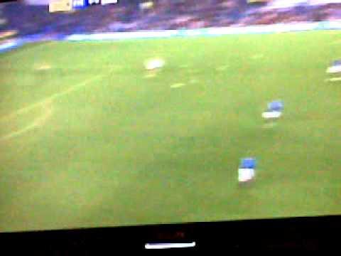 Tim howard goal ( Everton Vs Bolton)