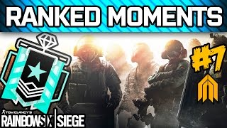 RAINBOW SIX SIEGE RANKED MOMENTS #7 - Diamond Ranked Squad