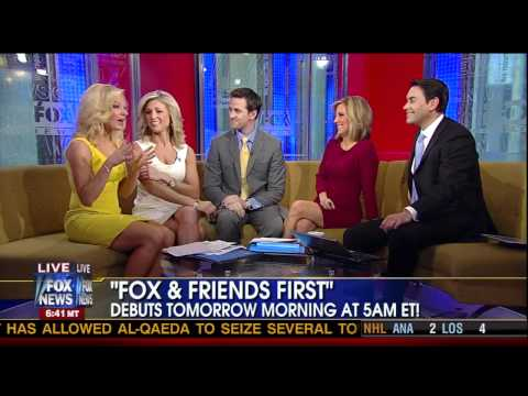 Ainsley Earhardt and Anna Kooiman heating things up