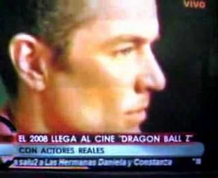 DRAGON BALL Z THE MOVIE- LA PELICULA- LIVE ACTION Video