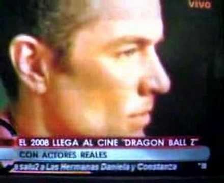 DRAGON BALL Z THE MOVIE- LA PELICULA- LIVE ACTION Video