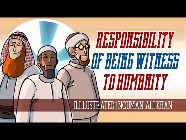 Responsibility of Being 'Witness to Humanity' | illustrated