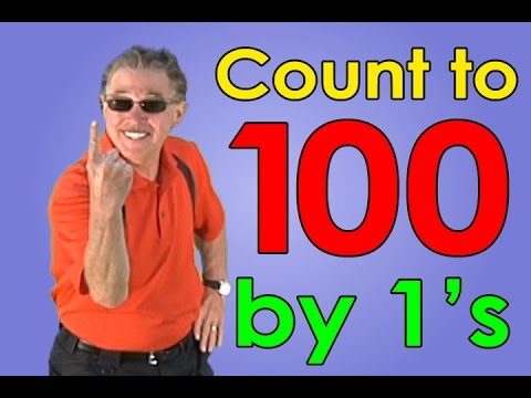 Let's Get Fit | Counting To 100 By 1's | Kids Songs | Jack Hartmann video
