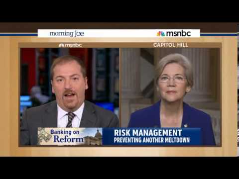 Morning Joe  Elizabeth Warren goes after big banks with new Glass Steagall