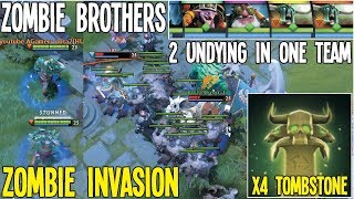 Zombie Brothers 2 Undying In One Team Zombie invasion Meta   Dota 2 Silly Meta