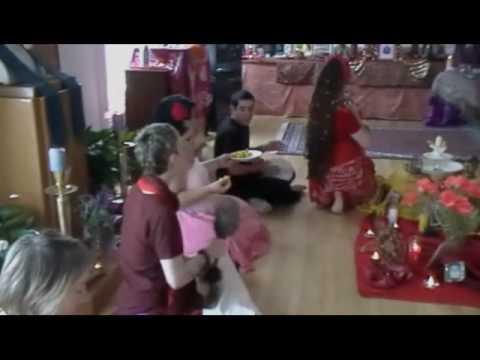 Yoni Puja 2010 - Shiva Offering - YouTube