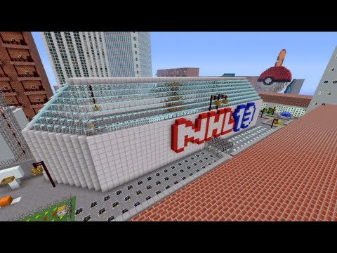 Minecraft Xbox Pokemon Battle Novakov City Part 1