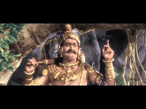 Mayabazar Movie || S V Ranga Rao Beautiful Introduction as Ghatothkachudu...