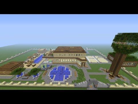 Minecraft : Casa moderna + Descarga ( 1.7 o más )