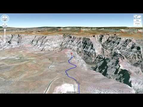 From Las Vegas to the Grand Canyon Skywalk - Driving Directions